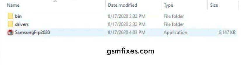 Easy Samsung FRP Tool
